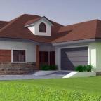Parterowy dom jednorodzinny  ORTO 4